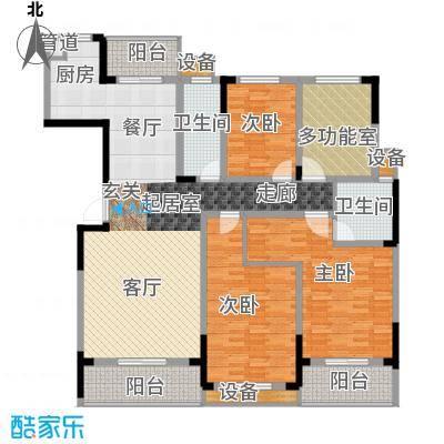 枫雅名苑173.70㎡面积17370m户型