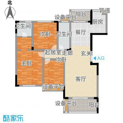 枫雅名苑140.69㎡面积14069m户型
