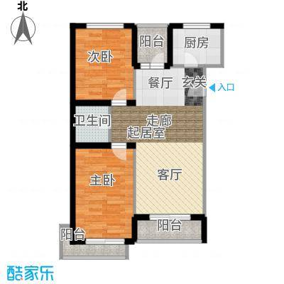 长坡社区60.00㎡户面积6000m户型