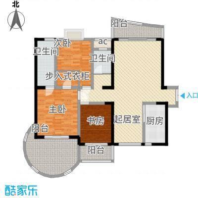 BOBO天下城136.93㎡2、3栋A、D3面积13693m户型