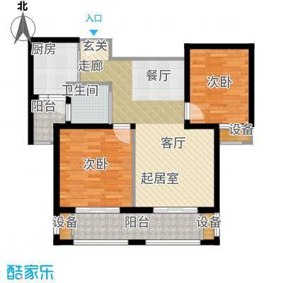 东都公寓110.00㎡面积11000m户型