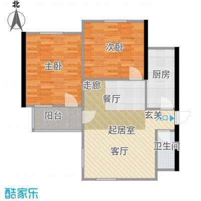 东都公寓70.00㎡面积7000m户型
