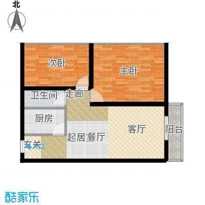 东都公寓72.00㎡面积7200m户型