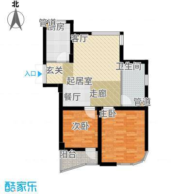 东都公寓73.00㎡面积7300m户型