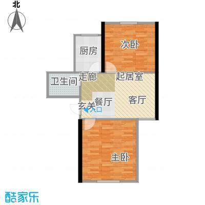 东都公寓62.00㎡面积6200m户型