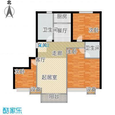 东都公寓120.00㎡面积12000m户型