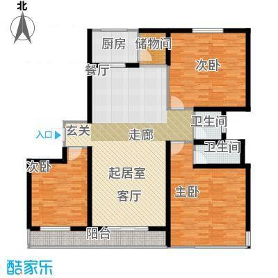 东都公寓129.00㎡面积12900m户型