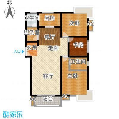 旺坤家园150.00㎡面积15000m户型