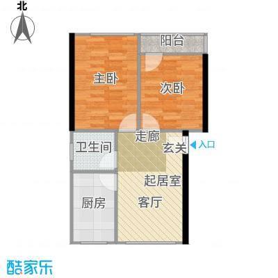 景芳新五区53.00㎡2面积5300m户型