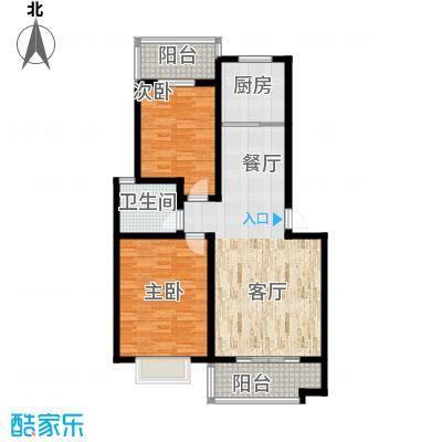 香河公寓98.00㎡面积9800m户型