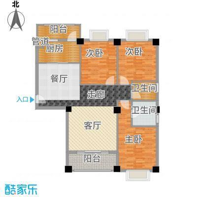 城市山水豪园113.40㎡9栋A2-3面积11340m户型