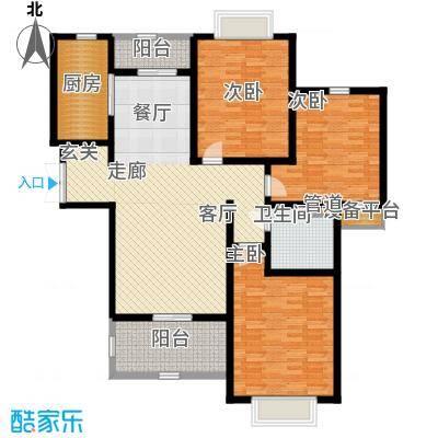 宏轩花苑138.00㎡面积13800m户型