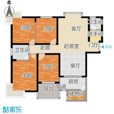 长沙市委党校宿舍161.00㎡面积16100m户型