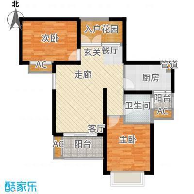 湘江世纪城融江苑户型