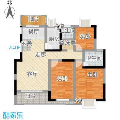 中铁五局单位房89.00㎡户面积8900m户型