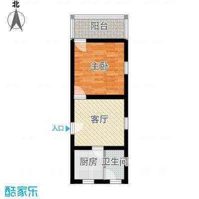 国都公寓40.00㎡面积4000m户型