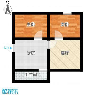 国都公寓41.00㎡面积4100m户型