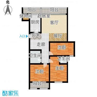 国都公寓137.00㎡面积13700m户型