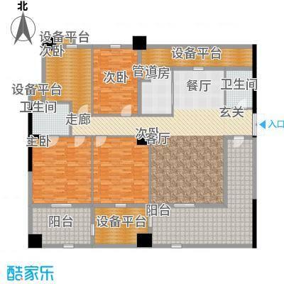 紫金苑221.00㎡面积22100m户型