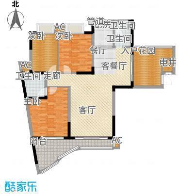 滨江金座二号栋户户型