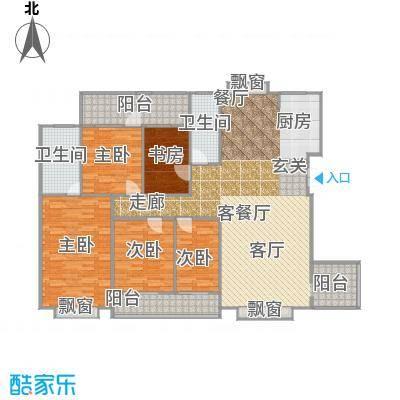 天翔新新家园c房型2户型