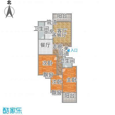 天翔新新家园b32户型