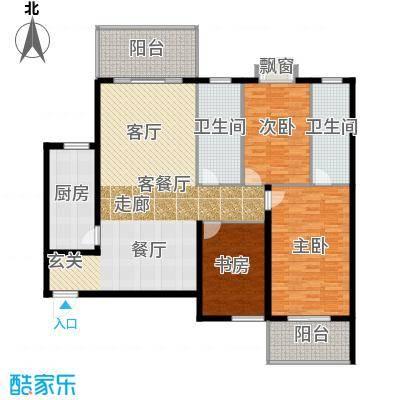 天翔新新家园a52户型