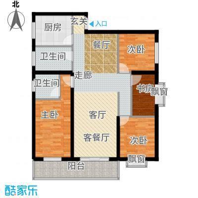天翔新新家园a32户型