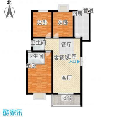 景香苑131.67㎡11栋面积13167m户型