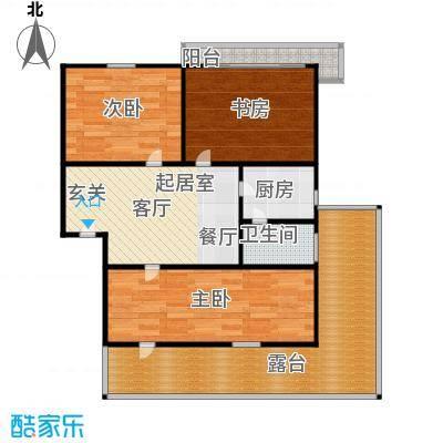 德胜新村79.00㎡面积7900m户型