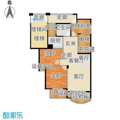 泊林公寓户型