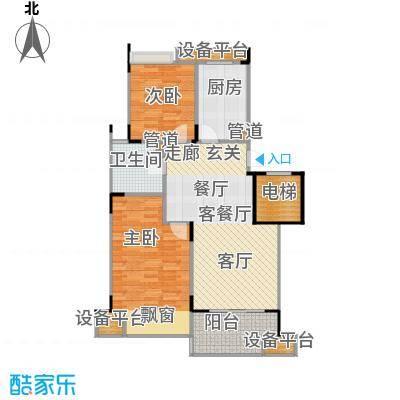 泊林公寓81.00㎡面积8100m户型