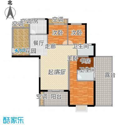 旭辉藏郡155.20㎡面积15520m户型