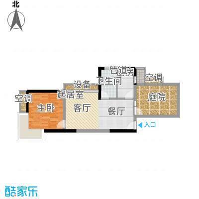旭辉藏郡67.14㎡面积6714m户型