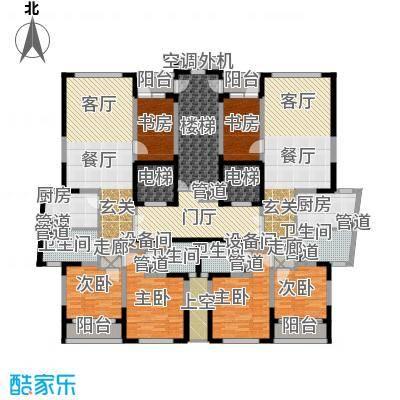 海威国际133.00㎡4#楼2单元3室2面积13300m户型