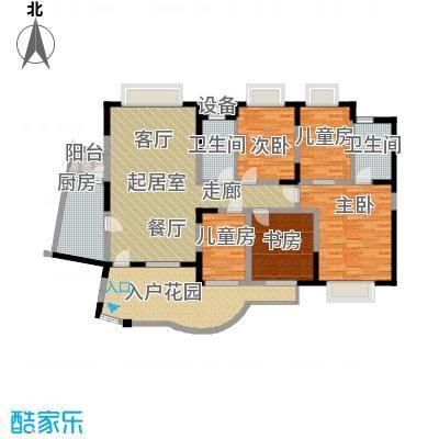 金凤滩家园159.00㎡面积15900m户型