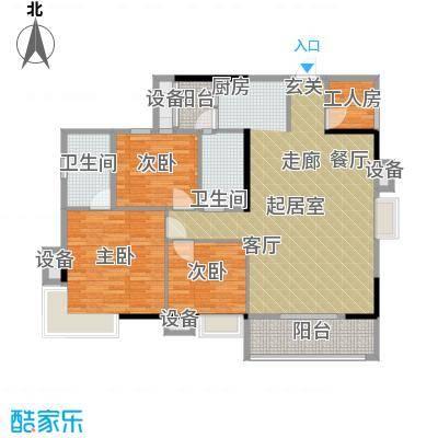 鑫天佳园150.00㎡面积15000m户型