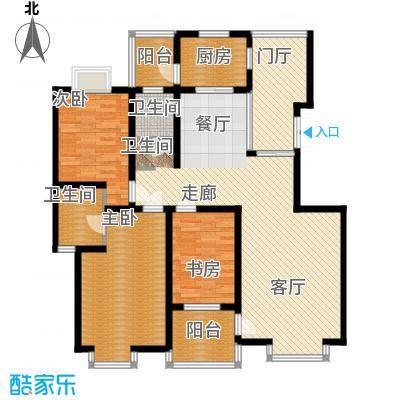 一品东庭124.90㎡面积12490m户型