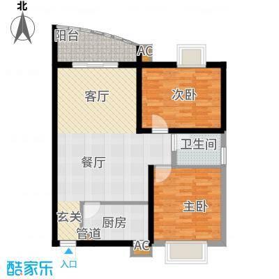 香河公寓户型