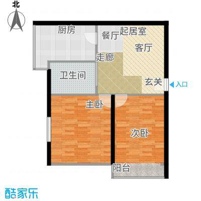 景芳新五区73.00㎡2面积7300m户型