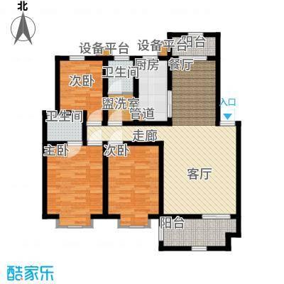 宏轩花苑99.00㎡面积9900m户型
