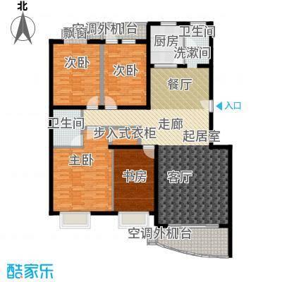 麓谷E家人149.87㎡H-4栋平面面积14987m户型