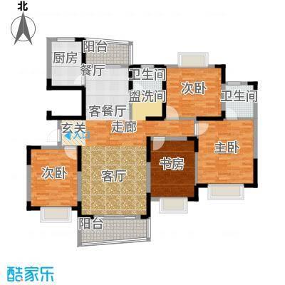 西子花苑163.68㎡I面积16368m户型