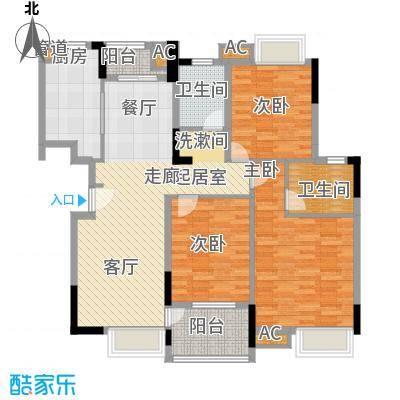 西城龙庭112.00㎡面积11200m户型