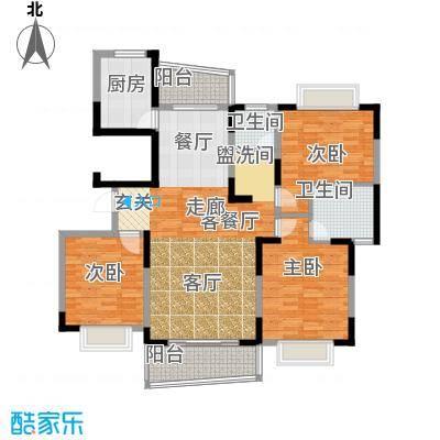 西子花苑163.00㎡D面积16300m户型