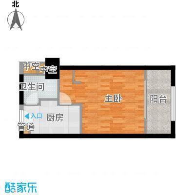 沁园春御院41.70㎡御院宫寓单人面积4170m户型