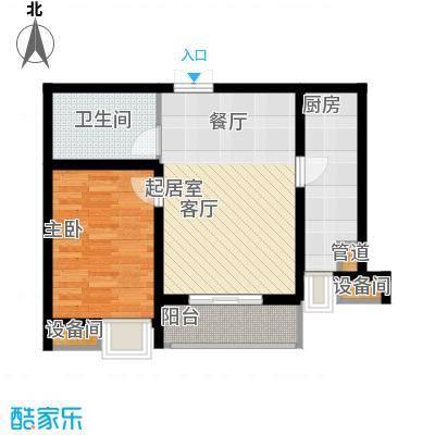 茂华国际湘1-A户型
