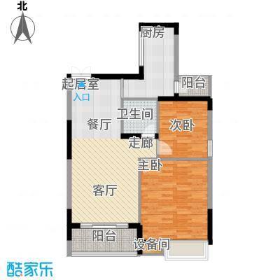 茂华国际湘88.00㎡2S-A1面积8800m户型