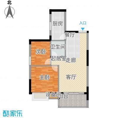 茂华国际湘88.00㎡2S-A2面积8800m户型