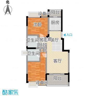 茂华国际湘100.00㎡2L-A1面积10000m户型
